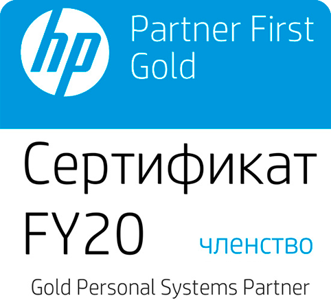 HP Partner Fist Gold Partner